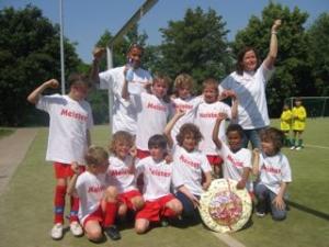 Alle Spiele gewonnen - Staffelsieger 2007/2008
