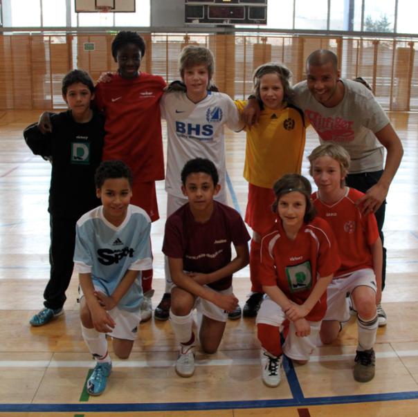 Allstarteam des U12-Fussballturniers des SV Pfefferwerk Berlin am 27.02.2011